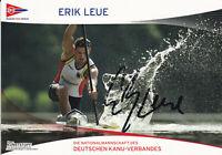 Erik LEUE - Deutschland, Gold WM 2009 Kanu, Original-Autogramm!