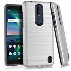 For Nokia 3.1 Plus TA-1124 / HMD 3.1 Plus / Feller (2018) Lining Case Cover