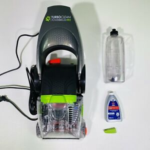 Bissell BASE ONLY Turboclean Powerbrush BROKEN STEP GREEN BUTTON 2085 3