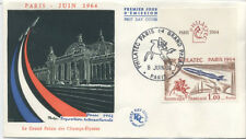 FRANCE FDC - 1422 2 EXPOSITION PHILATEC 8 Juin 1964 - RARE - LUXE