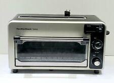 Hamilton Beach 2 in 1 Toaster Oven/Toaster Type 054~Model 22720
