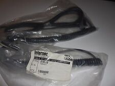 NEW INTERMEC 068421 - 001 COILED CABLE  - 10 PIN  25 FT