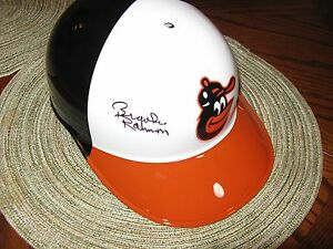 Brooks Robinson Baltimore Orioles Signed Authentic Batting Helmet Tri Star