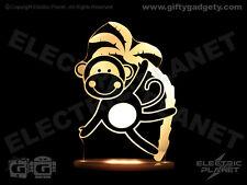 Dream Light Remote Control Colour-Changing LED Monkey Nightlight, Sleep Timer