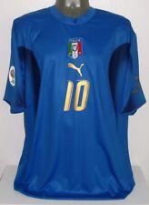 PUMA ITALY ITALIA WC2006 WINNER TOTTI XXL 2XL ORIGINAL SOCCER JERSEY SHIRT