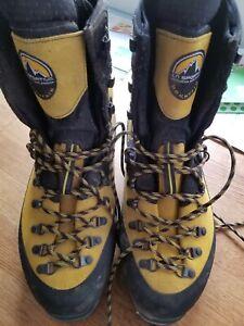 La Sportiva Nepal Evo Mountaineering Boots Mens Euro Size 46.5, US Size 12.5