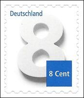 Ergänzungsmarke 8 Cent - skl. aus Markenset - Mi.Nr. 3196 - VARIANTEN