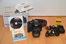 Canon EOS 550d 18mp con EF-S 18-55 USM Obiettivo