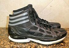 Adidas AdiZero Crazy Light Mens Size 11 Black White Gray Basketball Shoes G23673
