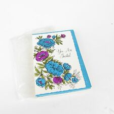 Vintage Lot of 8 Unused Party Misc Occasion Invitations Hallmark Flowers USA