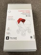 Genuine Bugaboo Donkey Non Extendable Hood / Canopy In Bright Pink  Brand New