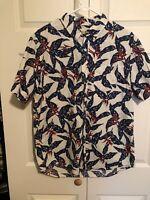 Denim & Supply Ralph Lauren Cotton Mens Shirt Size Large #271