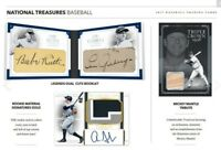 2017 NATIONAL TREASURES BASEBALL LIVE RANDOM PLAYER 1 BOX BREAK #4