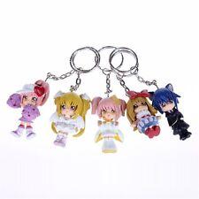 Shugo Chara 5pcs Set Mini Anime Figurine Pendant Keychain Keyring Cosplay