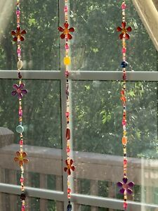 Chakra Suncatcher Flower Strand (Price Is For 1 Strand)
