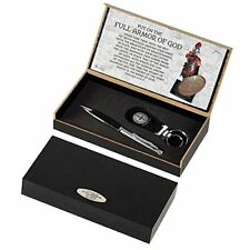 Armor Of God Black Ink Stick Pen and Keyring Gift Box
