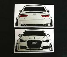 Audi A3 S3 RS3 Sline Sticker / Decal Coilover Lowering Camber Wide Bodykit Style
