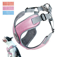 No Pull Pet Dog Harness Soft Mesh Padded Safety Reflective Straps Adjustable S-L
