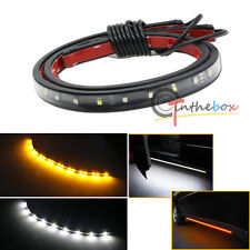 1PC 48'' 120SMD LED Amber White Switchback Strip Car Truck SUV Step Signal Light