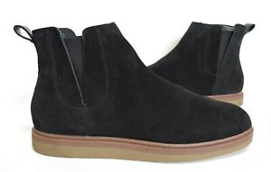 NEW! Ladies CLARKS Cushion Soft Black Suede ankle Chelsea boots Size UK 6 D