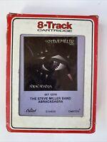"8 Track Cartridge Tape STEVE MILLER BAND ""ABRACADABRA""  Capitol Records S134630"