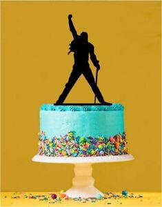 Freddie Mercury - Queen Acrylic Cake topper