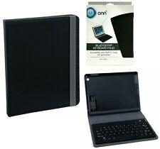 Onn Bluetooth Keyboard Case for Apple iPad 2, 3, 4 Generation Tablet Folio Case