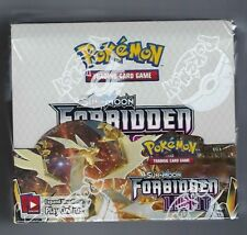 POKEMON TCG FORBIDDEN LIGHT BOOSTER BOX SUN & MOON SEALED - ENGLISH!