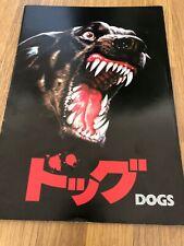 Dogs Japanese Movie Book / Program