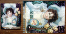 Vintage SPRINGBOK 500-PC PUZZLE An Old Fashioned Girl COCA-COLA ADVERTISING
