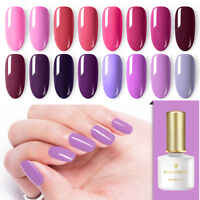 BORN PRETTY Red UV Gel Polish 6ml  Tips Soak Off Nail Gel Varnish s