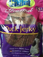 2.5 lb Cadet Duck Jerky Treats for Adult Dogs, Free Shipping