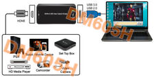 HDMI To USB 3.0 USB 2.0 Recorder Adapter With DVR Software for PC