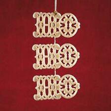 Lenox Fine China Ornament - Ho Ho Ho - New Retired