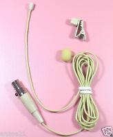 ME2T Mini Lapel Microphone for Shure Wireless  (Micro - Lavalier Omni Mic - Tan)