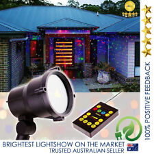 QUALITY Moving Laser Christmas Light Projector LED RGB Outdoor IP65 Waterproof