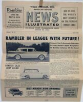 1959 AMC News Illustrated Rambler Ambassador American Rebel Wagon Sales Folder