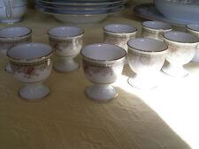 "Noritake 9 Eierbecher /Egg Cups Morning Jewel"""