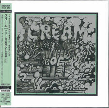 CREAM-WHEELS OF FIRE +4-JAPAN 2 MINI LP PLATINUM SHM-CD BONUS TRACK Ltd/Ed L00
