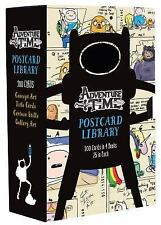 Adventure Time Postcard Library: 100 Cards in 4 Books, 25 in Each Cartoon Networ
