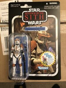 """Hasbro Star Wars 3.75"""" Vintage Collection ROTS CLONE COMMANDER CODY VC19"""