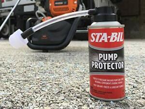 Pressure Washer Pump Saver Protector fluid Lubricant Storage Antifreeze Seals