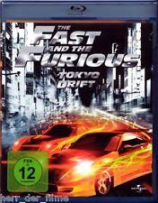 THE FAST AND THE FURIOUS: TOKYO DRIFT (Lucas Black, Bow Wow) Blu-ray Disc NEU
