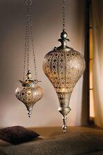 Hänge-Windlicht Set Fata Morgana, groß + klein, Kerzenhalter, Laternen