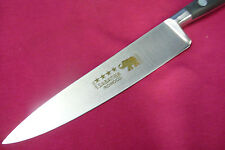 "VINTAGE NEW SABATIER **** ELEPHANT FORGED CHEF KNIFE 6"" SS BLADE FRANCE MINT!"
