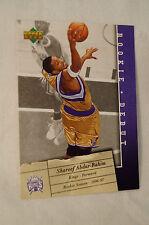 NBA CARD - Upper Deck - Rookie Debut Series - Shareef Abdur-Rahim - Kings