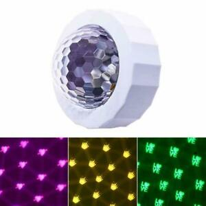 Car Disco Light Mini LED Voice Activated Lamp DJ Lights for Colorful Lights