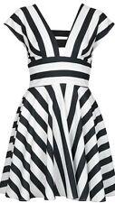 Topshop V-Neck Striped Mini Dresses for Women