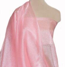 2.9 Yds-Awesome Solid RASPBERRY PURPLISH PINK ORGANZA Sheer Fabric