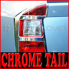 Chrome Tail Light Cover Molding 2p for 2007 2012 Kia Rondo Carens